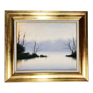 Landscape Oil Painting by Michael John Hill For Sale