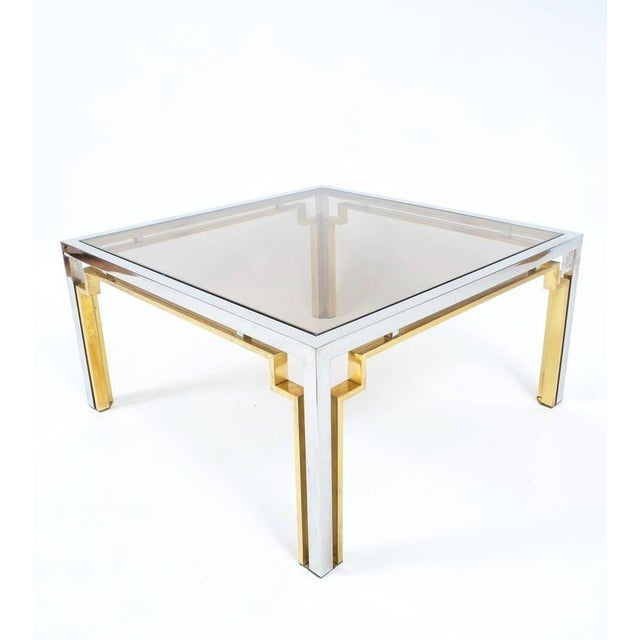 Exquisite Double-Frame Coffee Table Attributed to Romeo Rega For Sale - Image 6 of 9