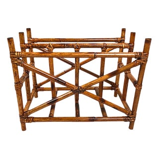 Rattan Magazine Rack For Sale