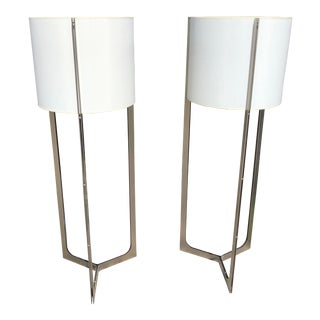 "21st Century Modern Carpyen ""Nirvana"" Floor Lamps - a Pair For Sale"