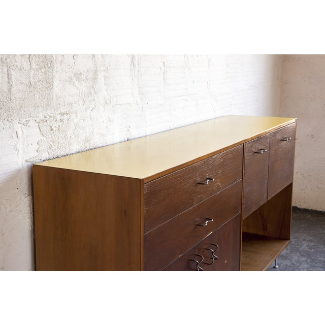 1970s Mid-Century Modern George Nelson for Herman Miller Credenza For Sale - Image 9 of 13