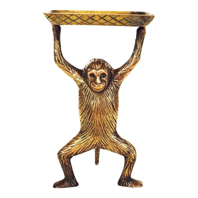 Vintage Brass Monkey Dish - Image 1 of 5