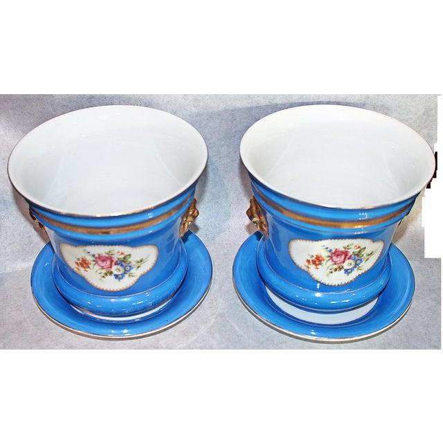 Carl Tielsch Porcelain Planters - A Pair - Image 3 of 7