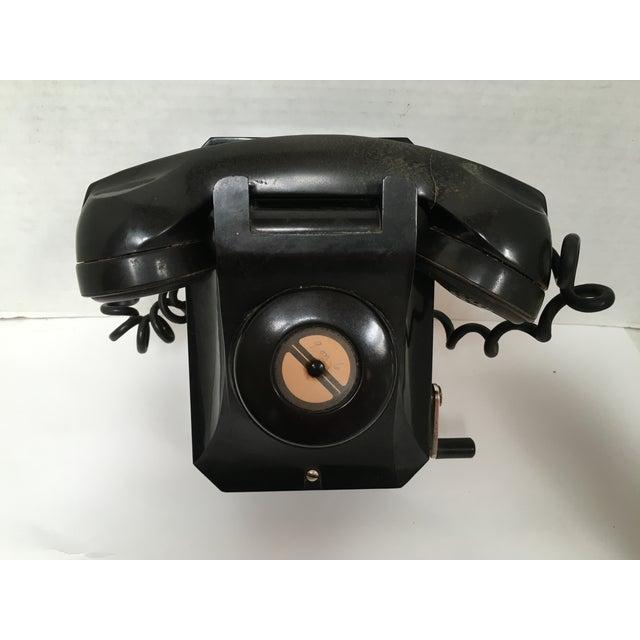Stromberg Carlson Black Bakelite Crank Telephone - Image 5 of 8