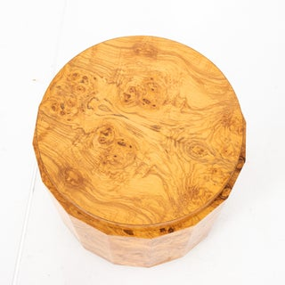 1950s Mid-Century Modern Edward Wormley Dunbar Burl Olive Wood Side Table Preview