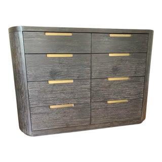 Contemporary Brownstone Furniture Palmer Mink 8-Drawer Dresser For Sale