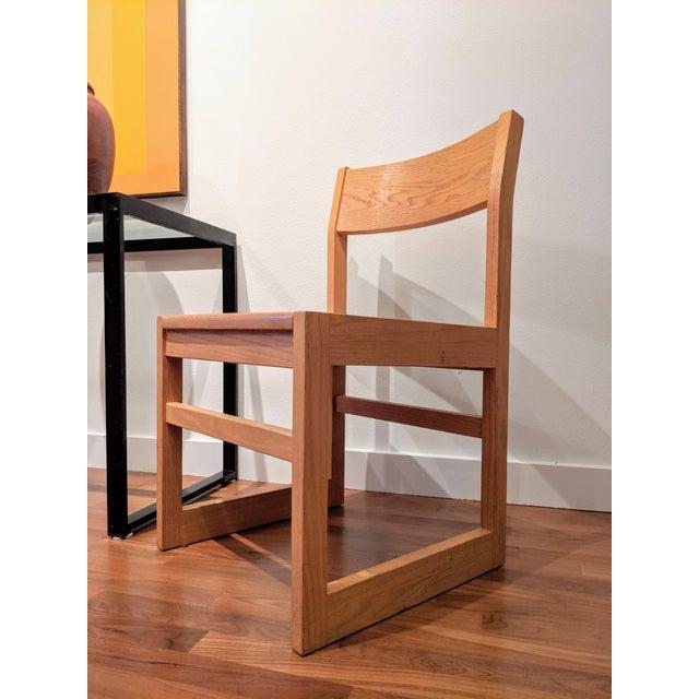 Børge Mogensen Organic Modernist Minimalist Oak Chairs - Set of 12 For Sale - Image 4 of 10