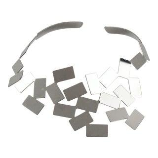 Mario Trimarchi for Alessi Metal Futurist Collar Necklace For Sale