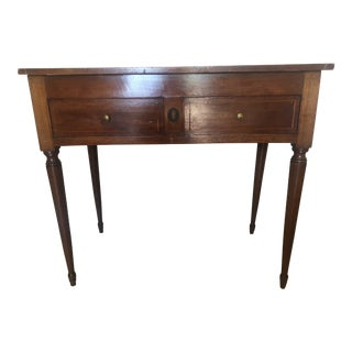 19th Century Louis XVI French Writing/Dressing Table For Sale