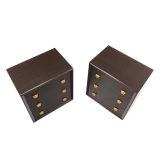Pair of Three Drawer Bachelor Chests For Sale