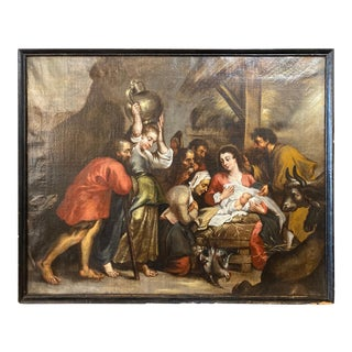 18th Century Dutch Painting For Sale