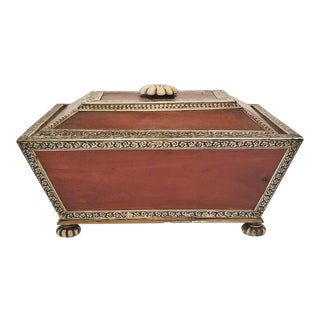 18c Anglo Indian Vizagapatam Casket - Exceptional and Rare For Sale