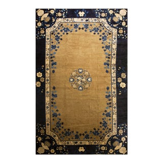 Antique Chinese Peking Rug 10'10' 'X 17' 2'' For Sale