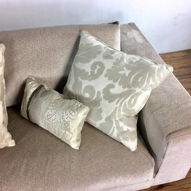 Minotti Mid Century Modern Style Italian Upholstered Sectional Sofa