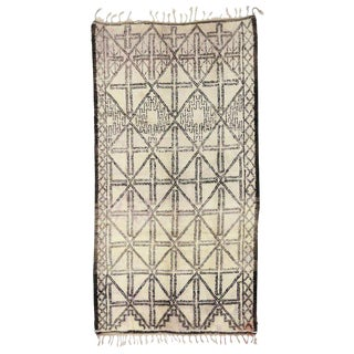 Moroccan Beni M'Guild Rug - 6′8″ × 12′6″ For Sale