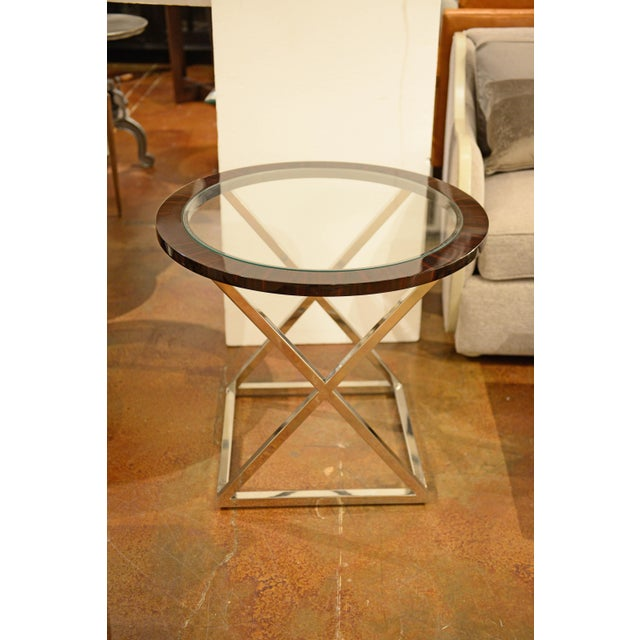 Thomas & Gray Side Table For Sale - Image 4 of 4