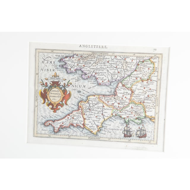 Antique Map of England For Sale - Image 4 of 6