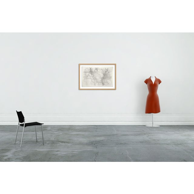 Graphite on paper Edition: Unique, Unframed. Margaret Neill works for a time on a group of pieces in a series, using...