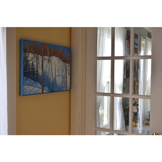 """Stephen Remick """"Sunny Ridgeline"""" Contemporary Painting For Sale - Image 10 of 12"""