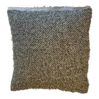 Vintage West Elm Grey Throw Pillow
