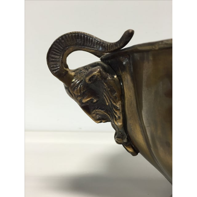 Brass Goat Head Bowl - Image 9 of 10