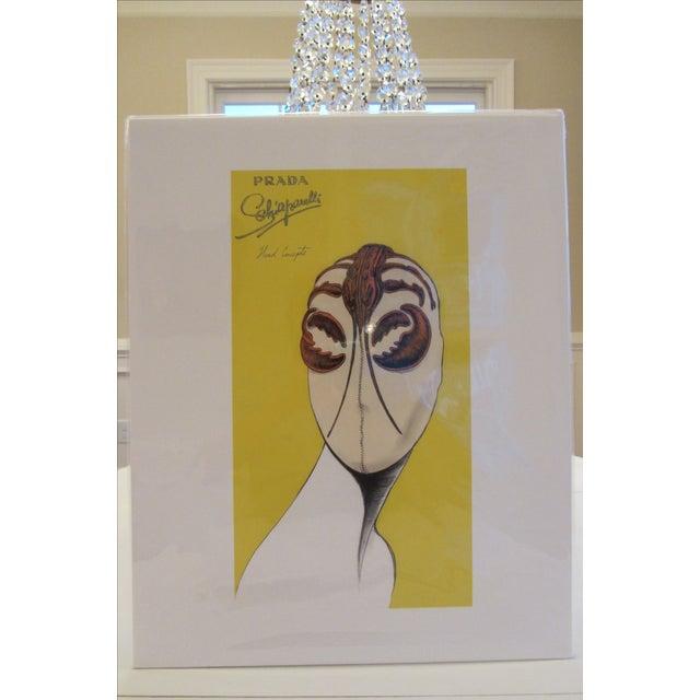 "Art Deco Prada ""Head Concepts"" Museum Prints - Set of 9 For Sale - Image 3 of 11"