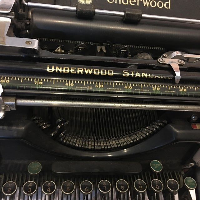 Vintage Underwood Standard Typewriter - Image 7 of 10
