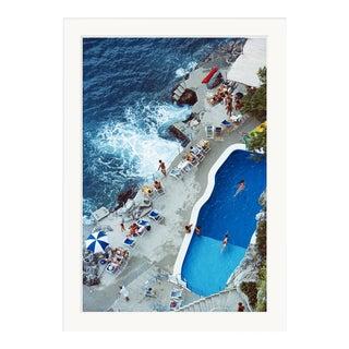 "Slim Aarons, ""Pool on Amalfi Coast,"" September 1, 1984 Getty Images Gallery Framed Art Print For Sale"