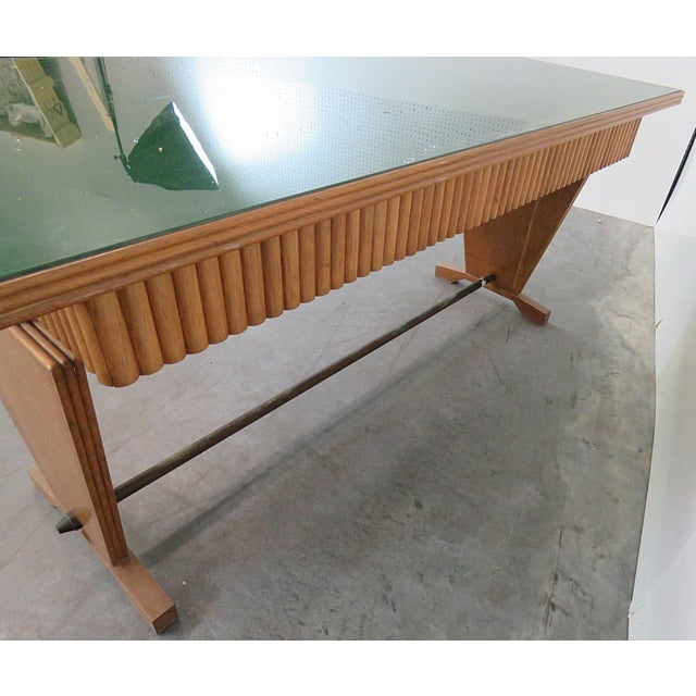 Gio Ponti Style Desk For Sale In Philadelphia - Image 6 of 7