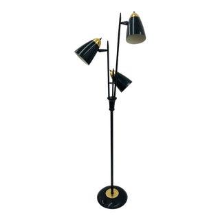 Vtg MCM Gerard Thurston for Lightolier Floor Lamp For Sale