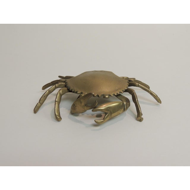 Vintage Brass Articulated Crab Box - Image 2 of 4