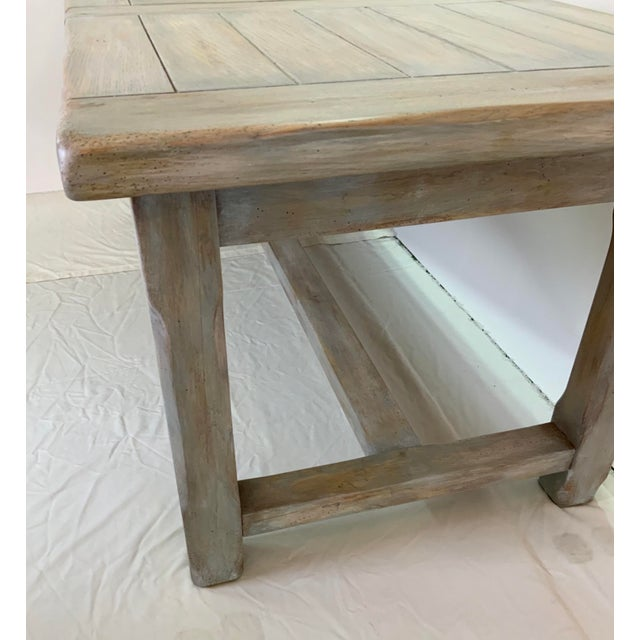 Christian Robert Farm Table With Two Leaves For Sale - Image 9 of 13