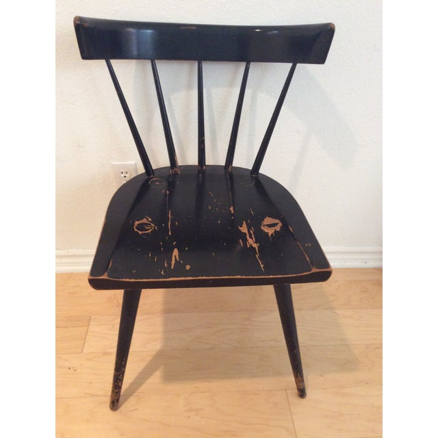 Paul McCobb 1960s Mid-Century Modern Paul McCobb Spindle Back Chair For Sale - Image 4 of 4