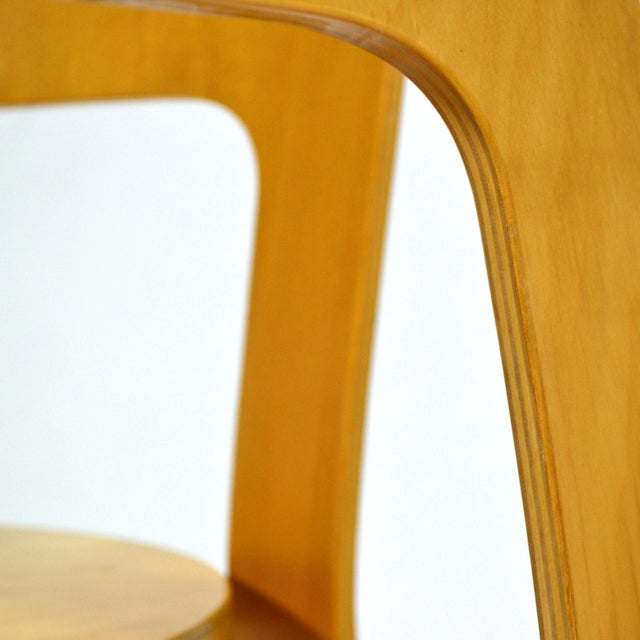 Birch Alvar Aalto Pair of Model 66 chairs For Sale - Image 7 of 11