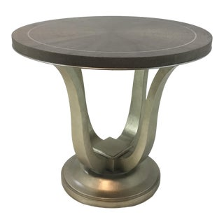 Caracole Modern Avondale Round End Table For Sale