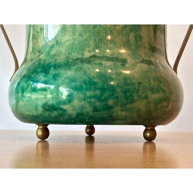 Aldo Tura Lacquered Goatskin Ice Bucket - Image 7 of 8