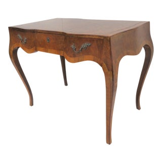 Italian Burlwood Writing Desk