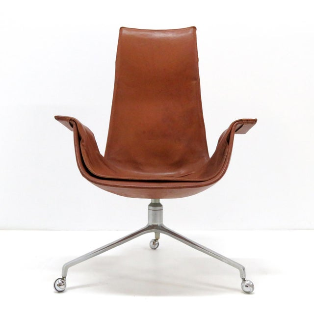 1960s Vintage Preben Fabricius Jorgen Kastholm Bird Chair For Sale - Image 12 of 12