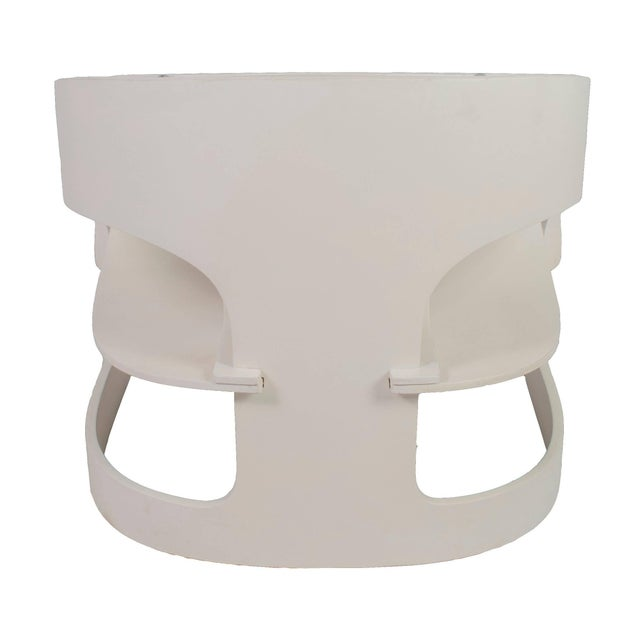 """Kartell Original Vintage Joe Colombo """"4801"""" Armchair, Made in Italy by Kartell For Sale - Image 4 of 9"""