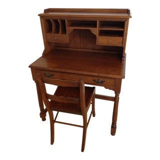 Schanz Writing Desk and Chair For Sale