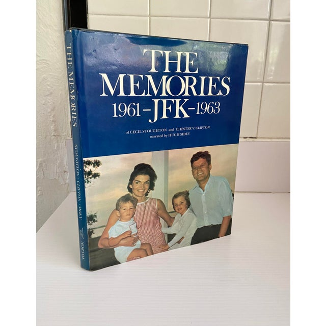 """Vintage 1973 """"The Memories: Jfk, 1961-1963"""" 1st Edition Hardcover Book For Sale - Image 10 of 13"""