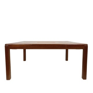 Mid Century Danish Modern Teak Coffee Table by Vejle Stole & Møbelfabrik For Sale