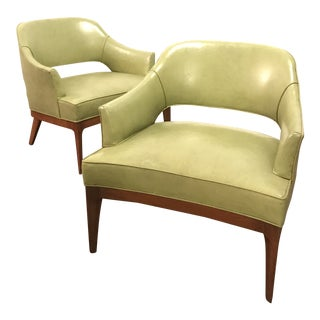 Mid Century Modern Harvey Probber Lounge Chairs- A Pair For Sale