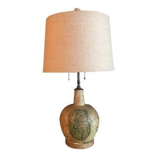 Vintage 1940's Marianna Von Allesch Signed Ceramic Lamp For Sale