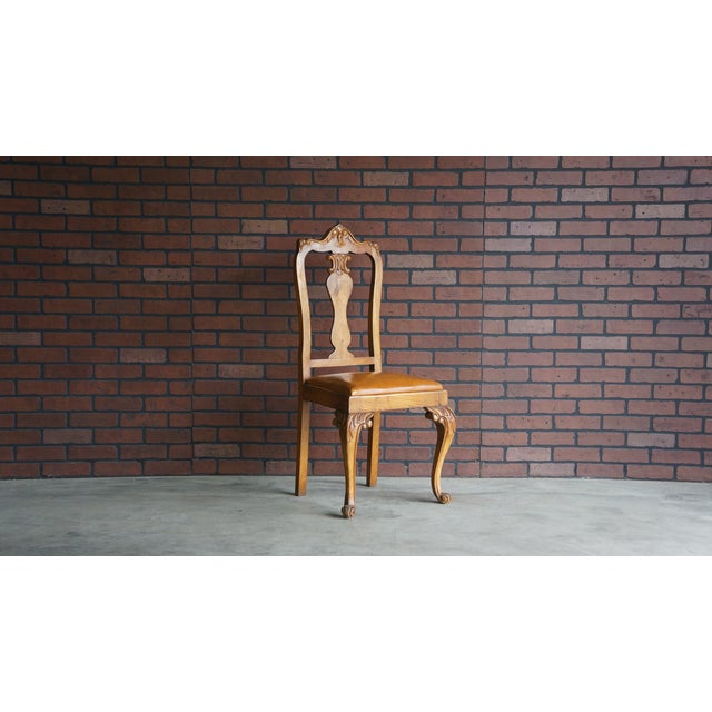 Early 20th Century Early 20th Century Antique French Provincial Carved Chair For Sale - Image 5 of 10