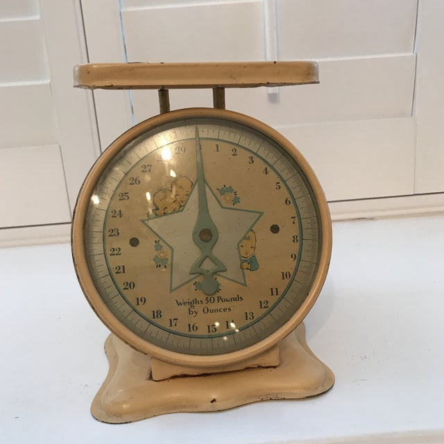 Vintage 50 S Baby Scale Chairish
