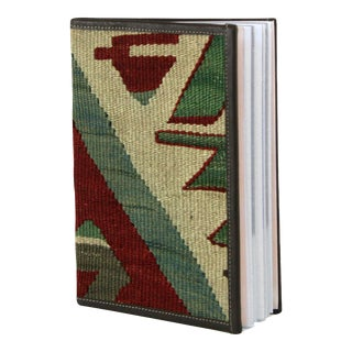 Kilim Journal | Kilim Diary in Red, Green and White