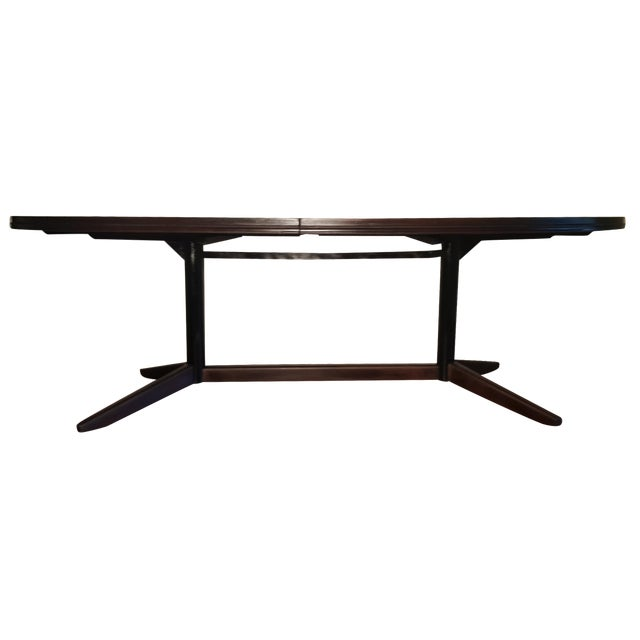 Mahogany Extendable Dining Table - Image 1 of 7
