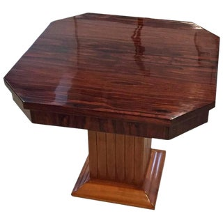 Gouffe French Art Deco Occasional Table For Sale