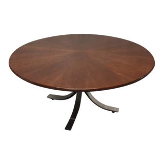 Vintage Osvaldo Borsani for Stow Davis Large Round Table